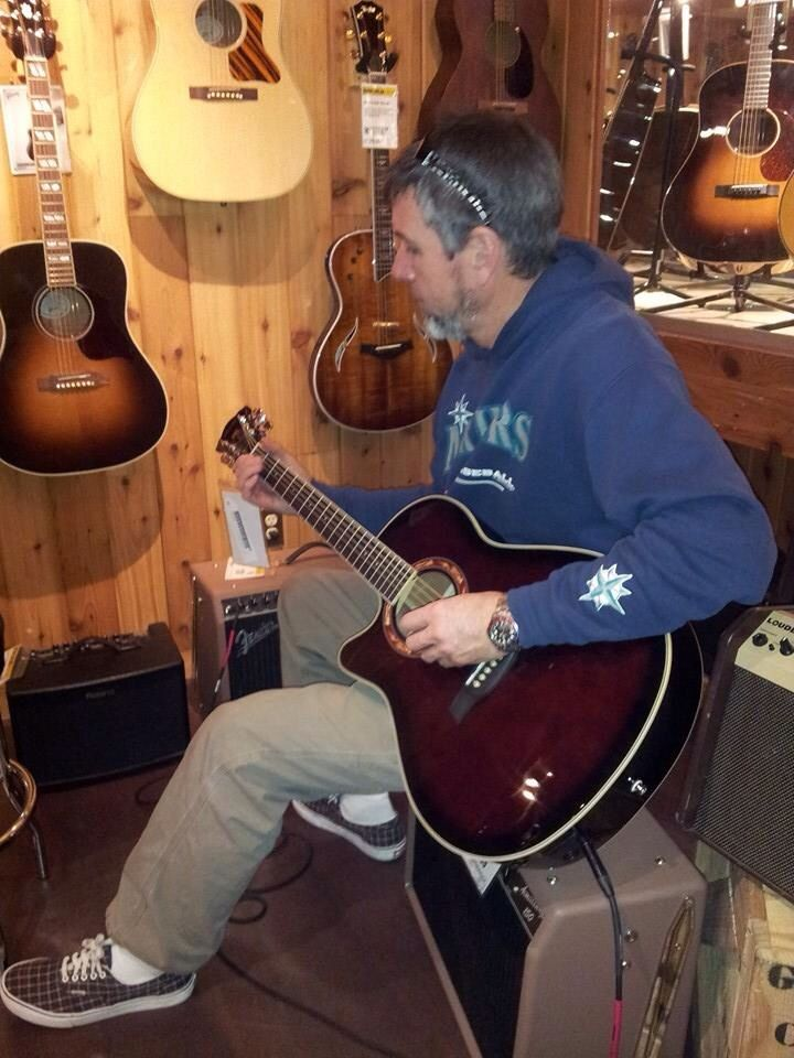 Playing In The Acoustic Room Guitar Center Guitar Playing Guitar Blues