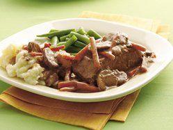 Slow Cooker Easy Pot-Roasted Steak