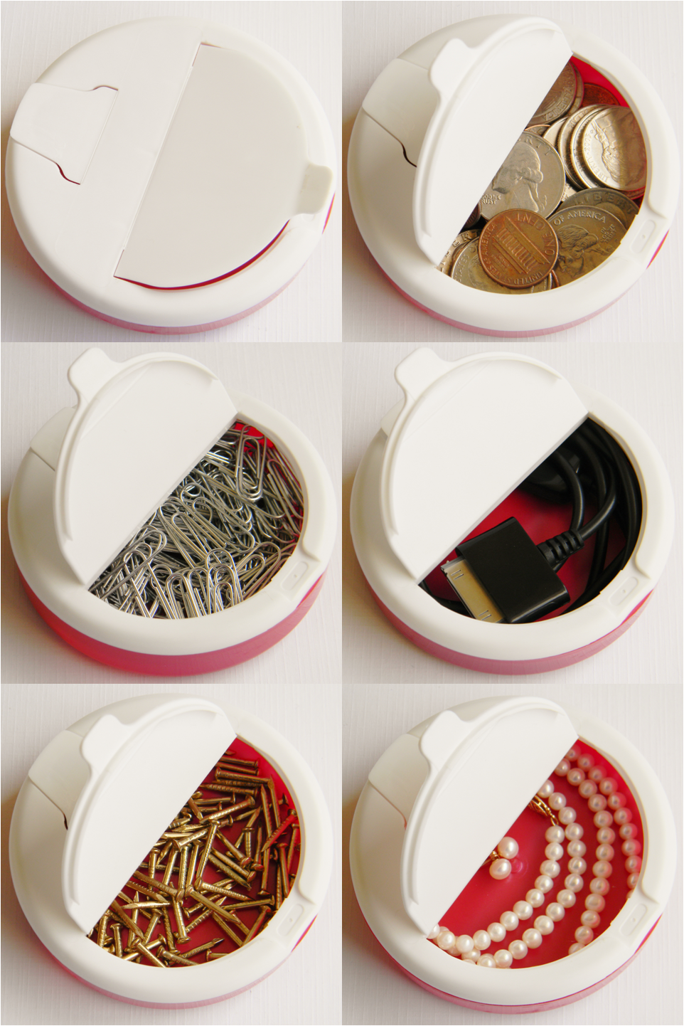 Reuse an Icebreakers mints container for almost anything ...