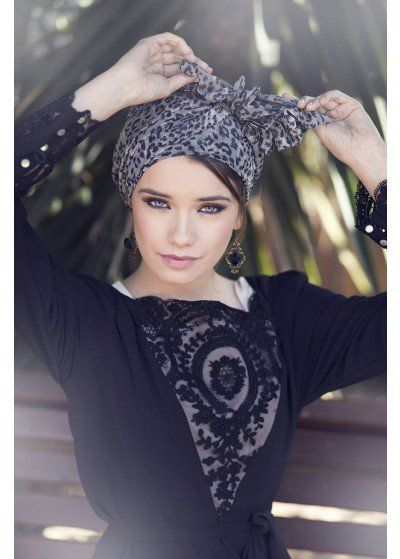 Latin Blue Head Covering | ModLi