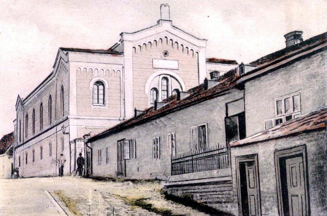 Bildergebnis für Nove Mesto nad Váhom synagoga