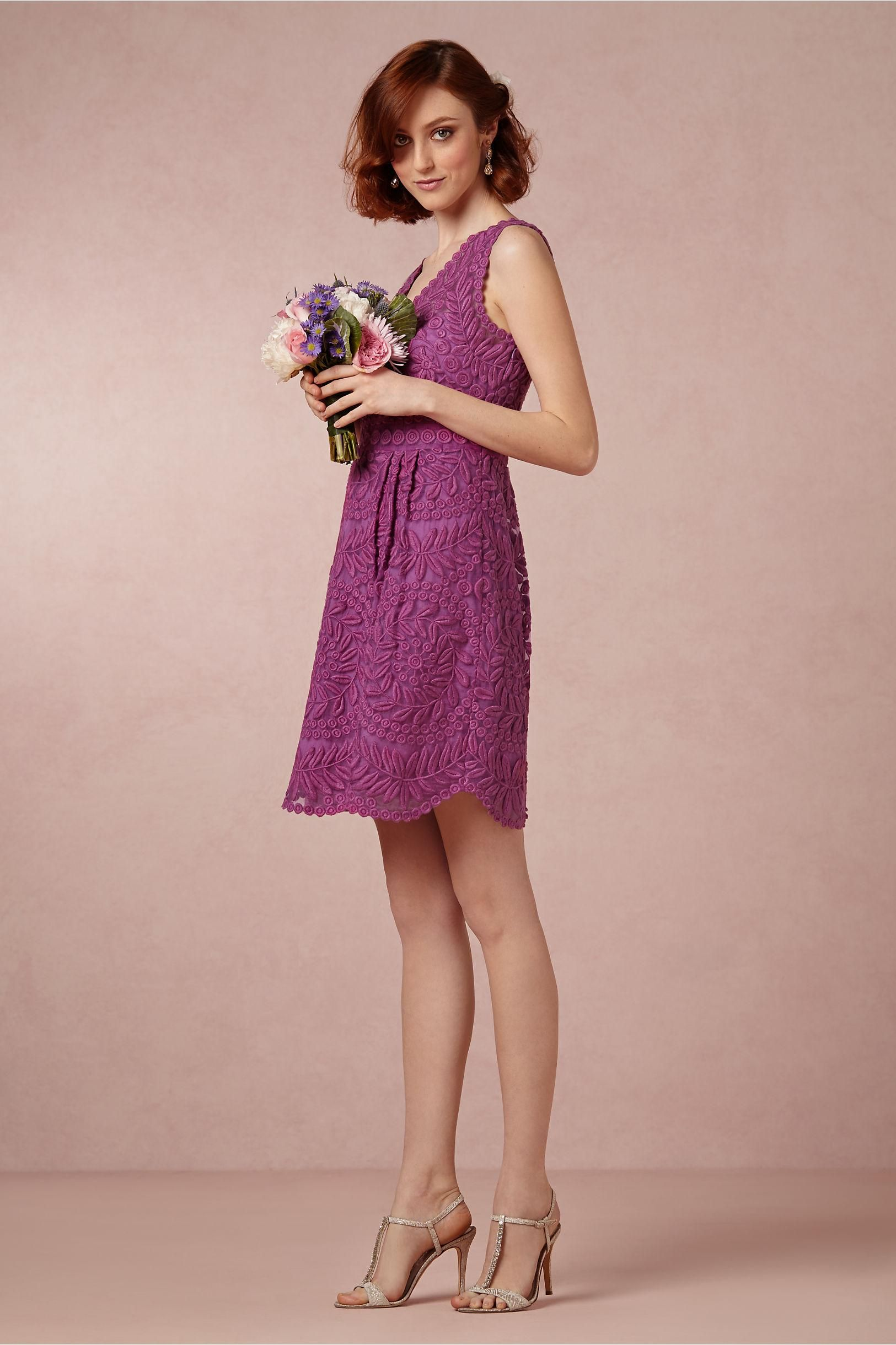Sienna Bridesmaid Dress in Fuschia Purple from BHLDN ...