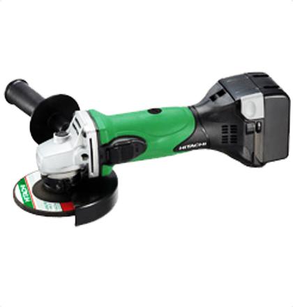 Hitachi G14dsl Cordless Disc Grinders Wheel Dia 115mm Slim And Soft Grip Perimeter 182mm Slide Switch Compact And Lightweight Hitachi Angle Grinder Grinders