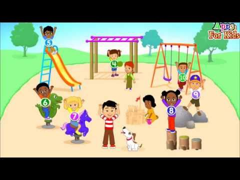 Math Song 10 Kids Went To Play Starfall App Preview By