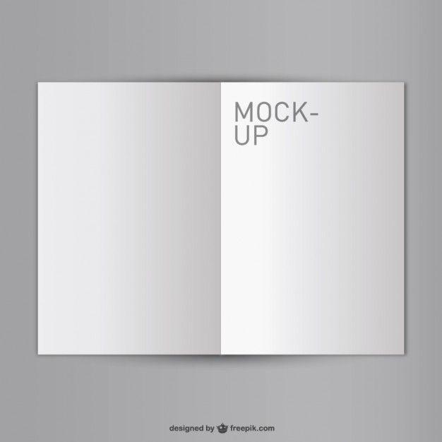 Blank Opened Book Mock Up Free Mock Up Pinterest Mockup