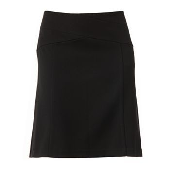 ELLE Solid A-Line Skirt