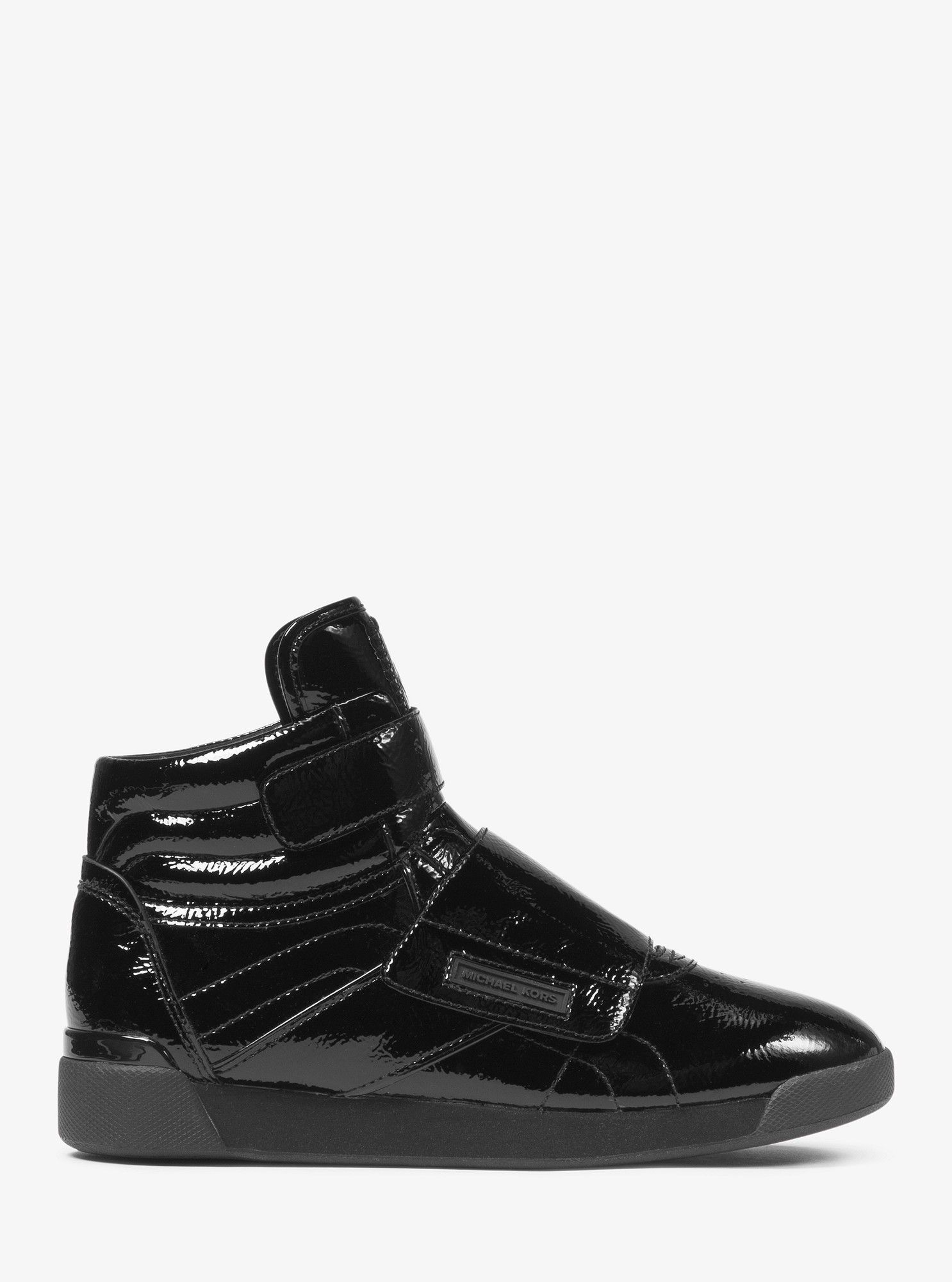 c7e7d4c082d Michael Kors Addie Patent Leather High-Top Sneaker - 5 in 2019 ...