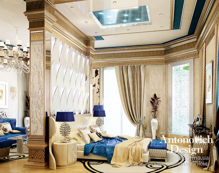 Luxury Bedrooms Interior Design Enchanting Мебель Alchymia & Antonovich Design Бутик Элитного Декора Decorating Inspiration