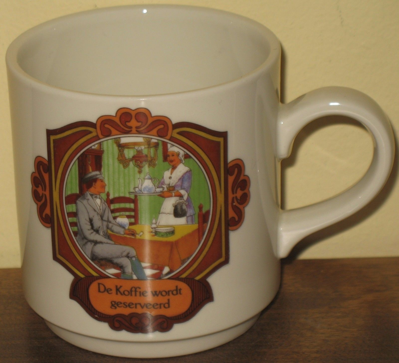 Villeroy Boch Coffee Is Served Mug Cup De Koffie Wordt Geserveerd Luxembourg Coffeemug