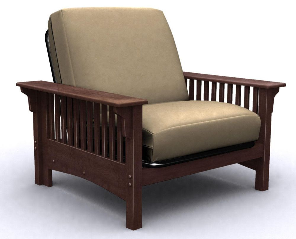 Santa Barbara Futon Chair Bed   Walnut