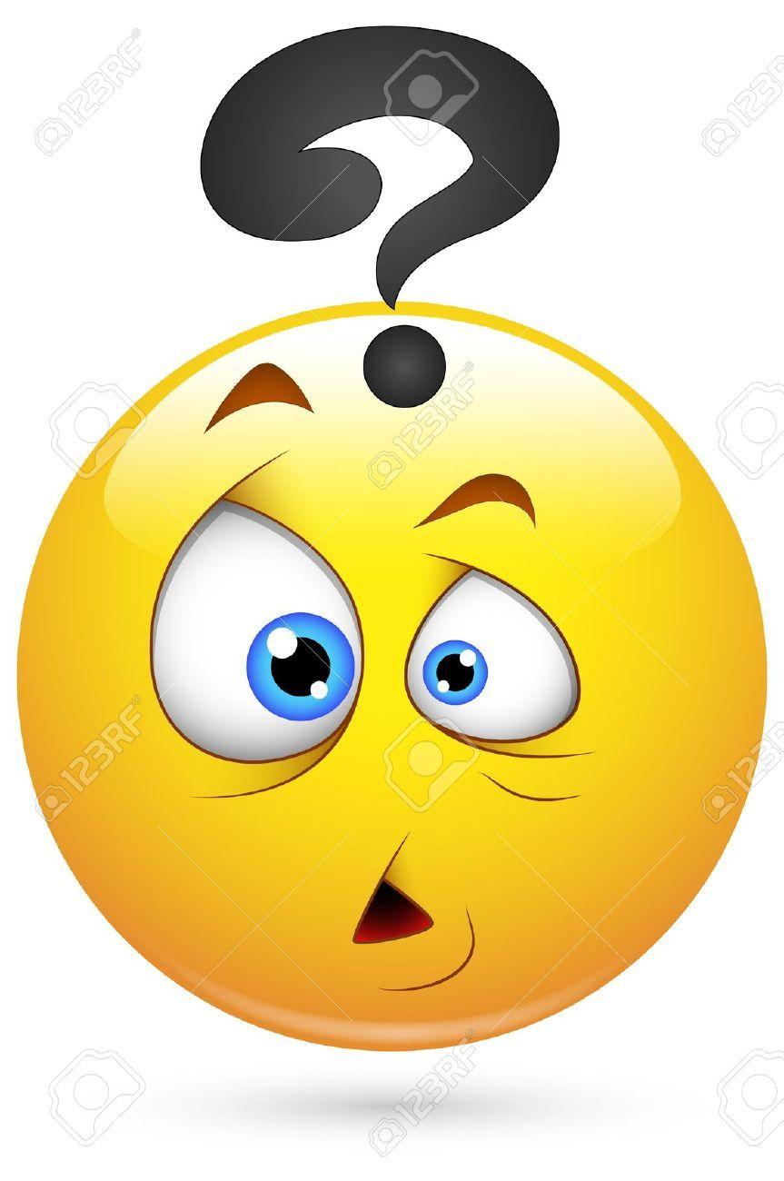 Smiley Vector Illustration Puzzled Face Animated Emoticons Emoticons Emojis Funny Emoticons