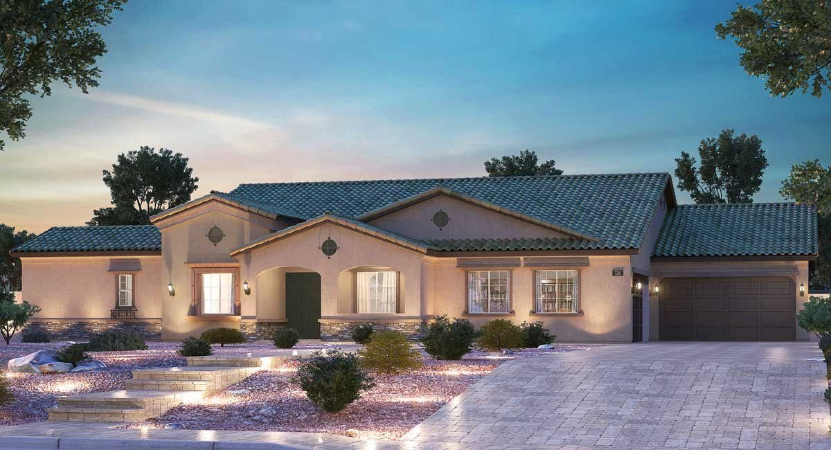 Estate Three Next Gen New Home Plan In Mountain View Estates By Lennar New House Plans New Homes For Sale Lennar