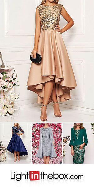 Women's Cocktail Party Elegant Asymmetrical A Line Dress