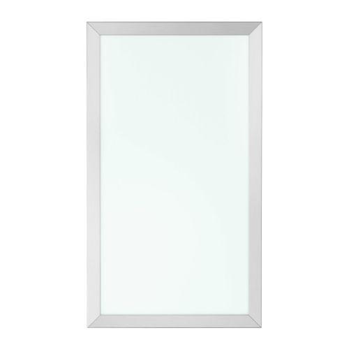 """Opaque Glass Kitchen Cabinet Doors: AVSIKT Glass Door - 24x80 """" - IKEA"""