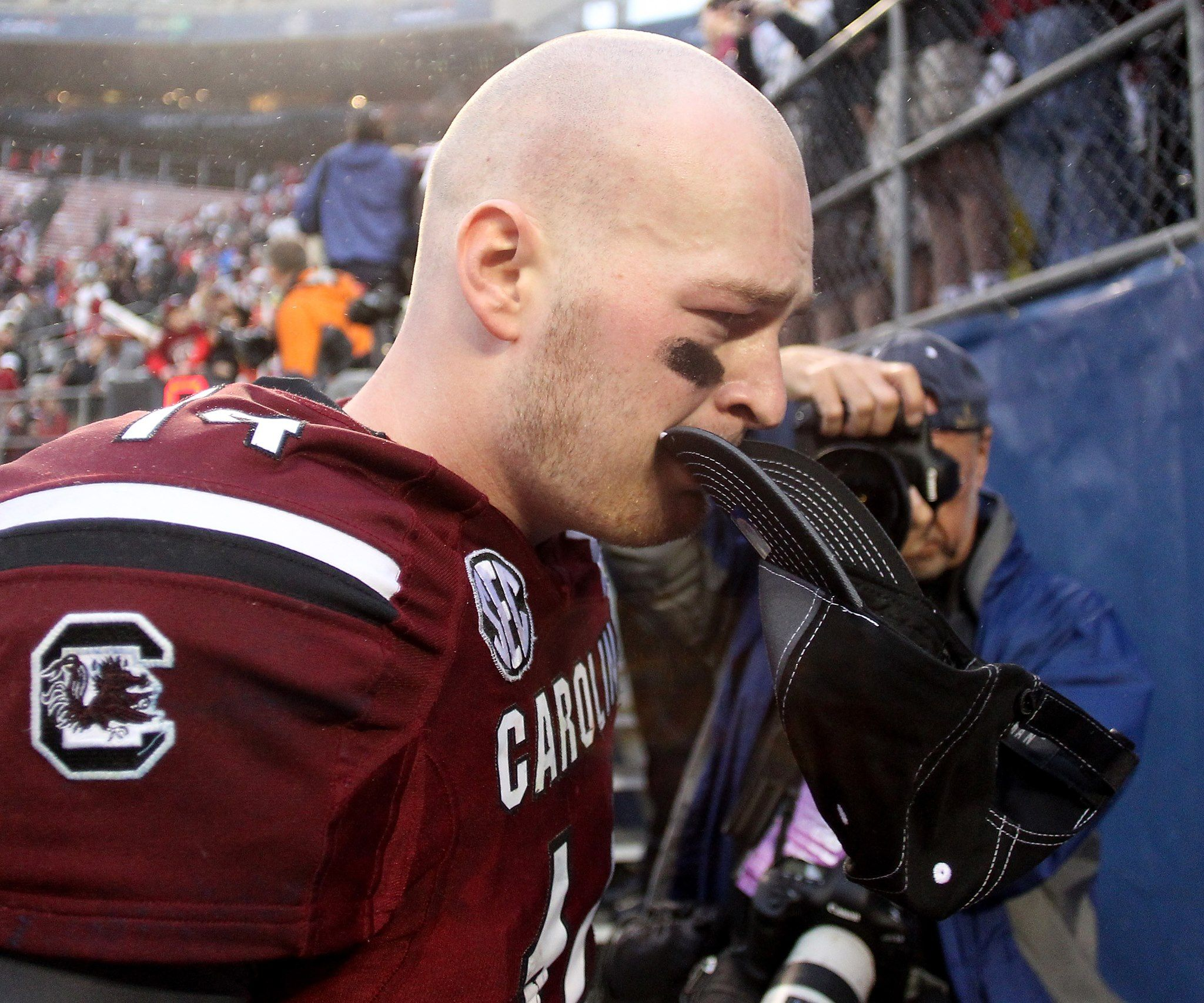 Capital One Bowl 2014- Connor Shaw   Gamecocks football ...