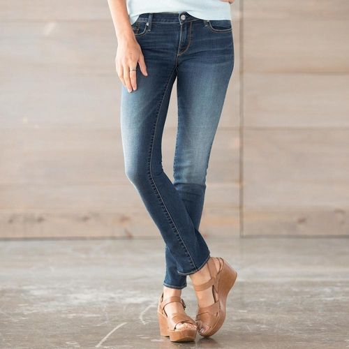 Driftwood Audrey Sunkissed Jeans from Sundance on Catalog Spree