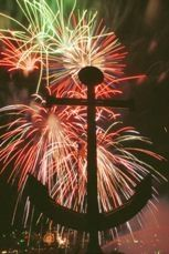 Coast Guard Festival Fireworks - Grand Haven, Michigan