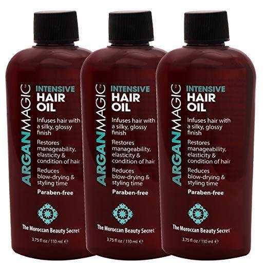 ARGAN MAGIC - Intensive Hair Oil (3.75 Ounce / 110 ...