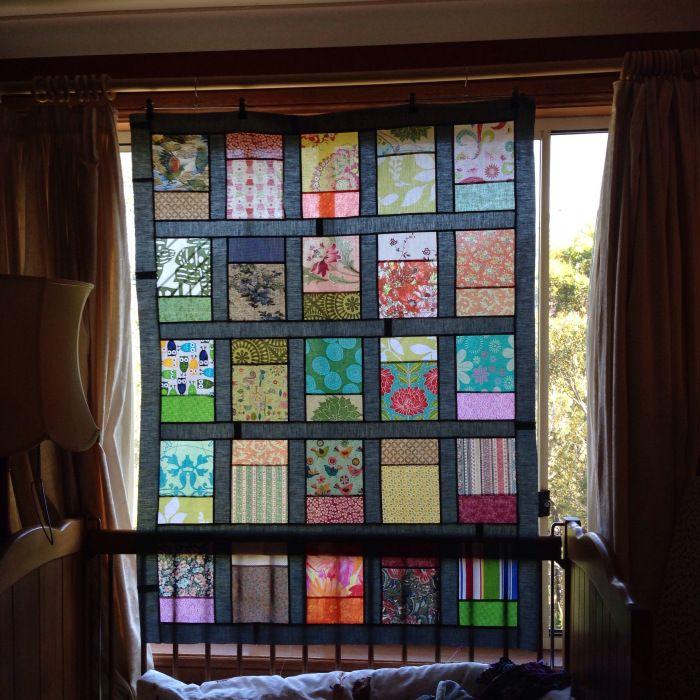 Windows quilt top