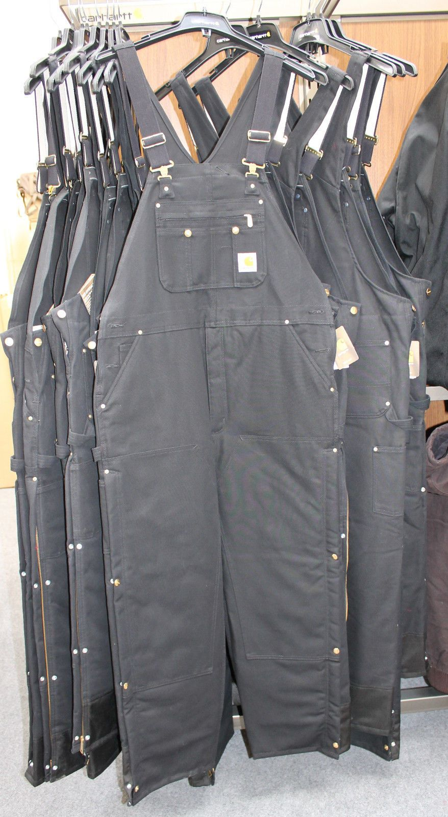 2e4a1df37a New Carhartt R41 Duck Zip-to-Thigh Bib Overall Quilt Lined Many Sizes  Available