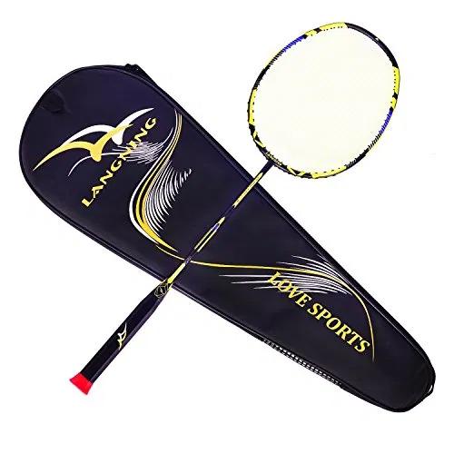 Light Racket Set Carbon Fiber 7u Best Tournament Best Offer For Outdoorfull Com In 2020 Badminton Racket Badminton Best Badminton Racket