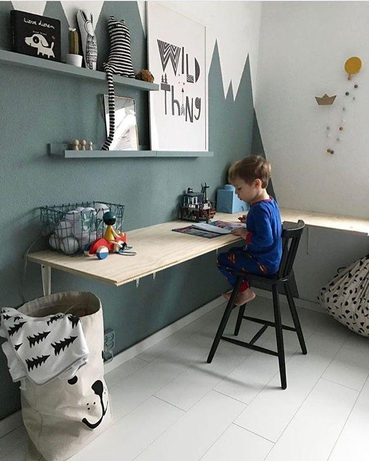CJA room ... 4/2019 south wall in 2019 | Boy room, New room ...