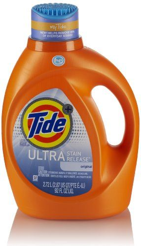 Tide Ultra Stain Release With Zap Cap Packaging Laundry