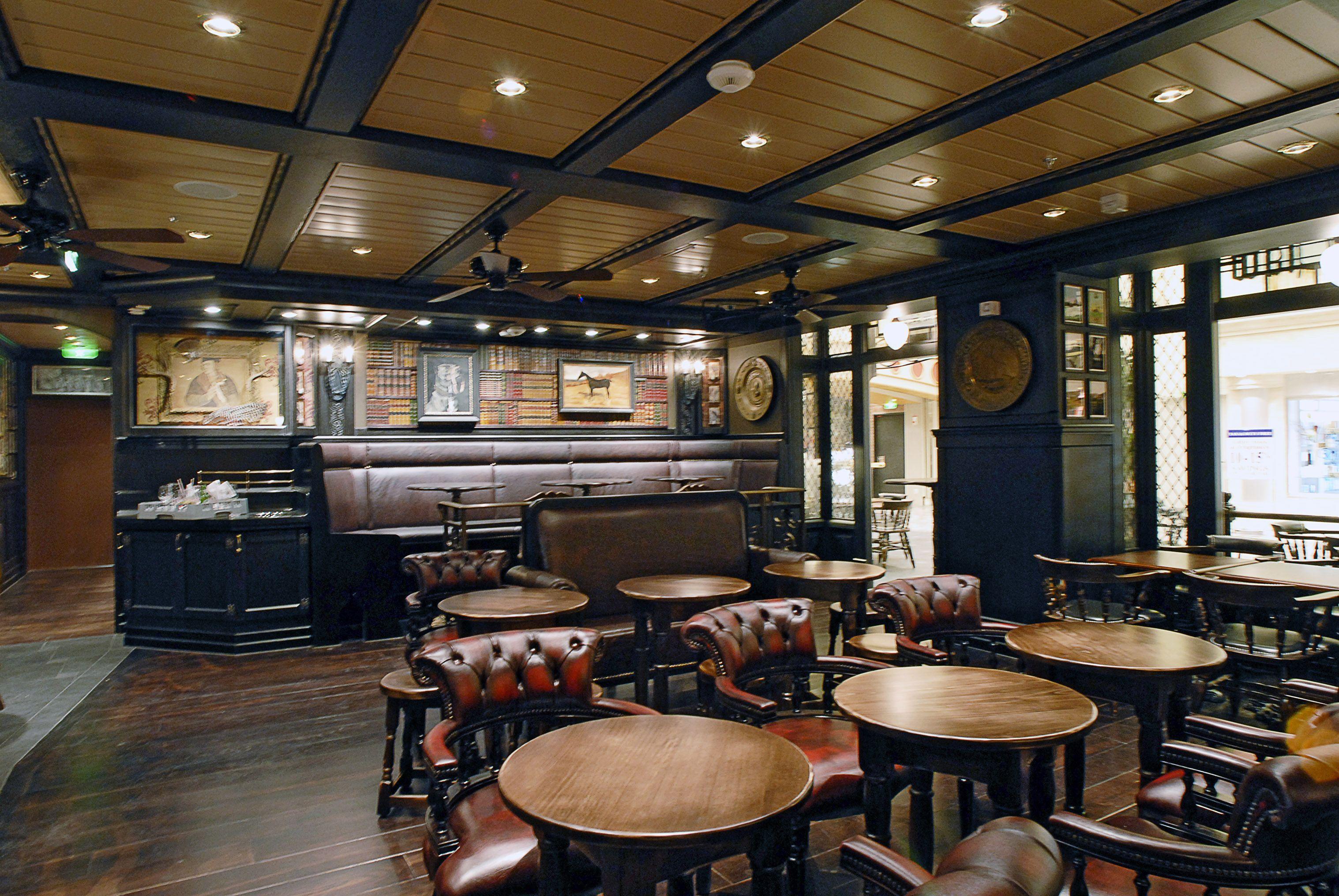 English Pub Design Ideas Faux Books For Themed Pubs