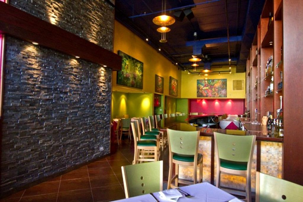 different color walls mexican restaurant interior design companies