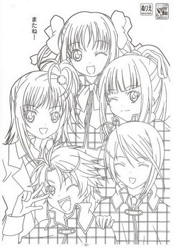 Anime Girls From Shugo Chara For Kids Printable Free