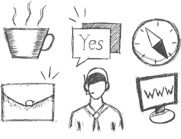 A good vector sketch is always in demand on microstock