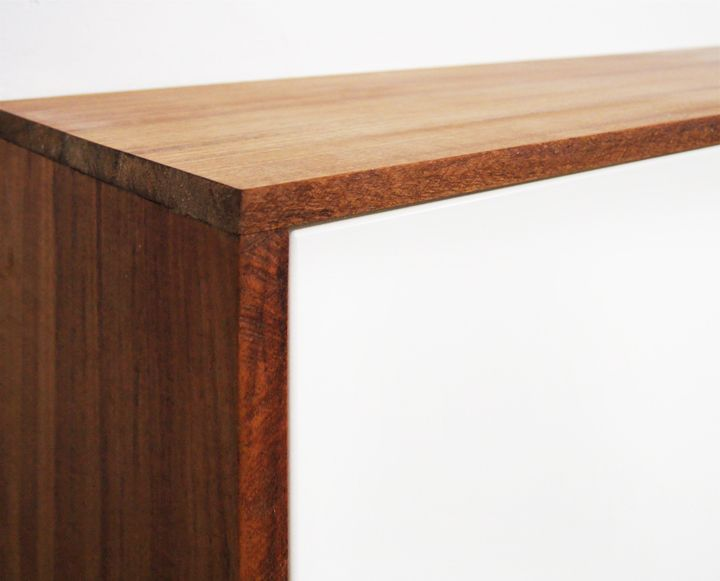 Ikea Faux Credenza : Fauxdenza wrapped in faux teak considering wrapping my tv storage