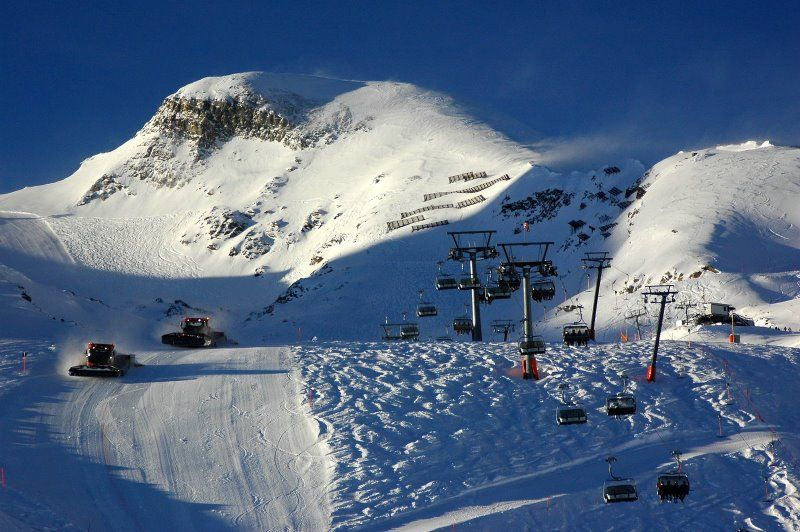 Zell-am-see, Austria -- I really enjoyed skiing here because anyone can ski here comfortably at any level... fun times!