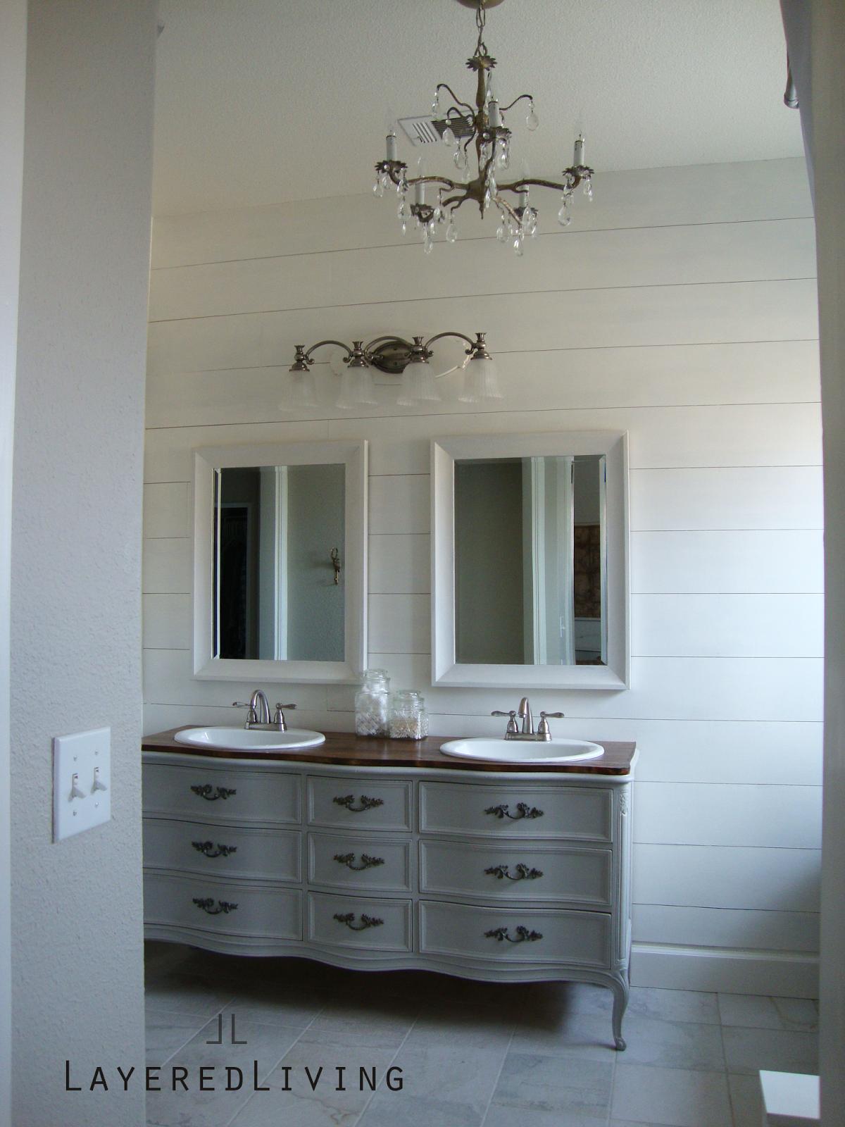 Bathroom Inspiration Dresser Vanity