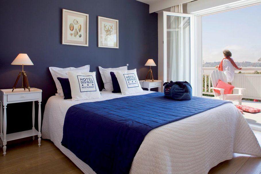 d co chambre style bord de mer esprit bord de mer. Black Bedroom Furniture Sets. Home Design Ideas