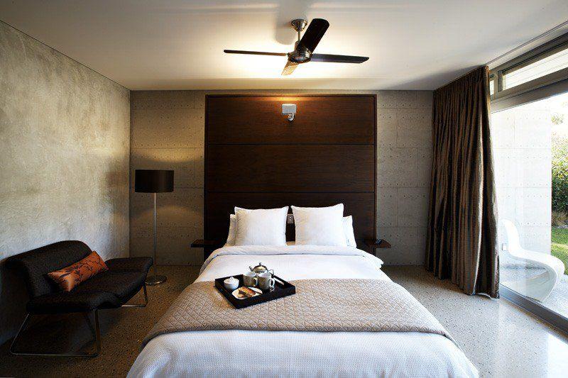 Couleur de chambre moderne – le marron apporte le confort ...