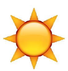 """Résultat de recherche d'images pour """"emoji iphone soleil"""""""