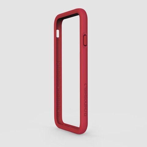 Rhino Shield Crash Guard Bumper for iPhone 6 / 6s  - Red