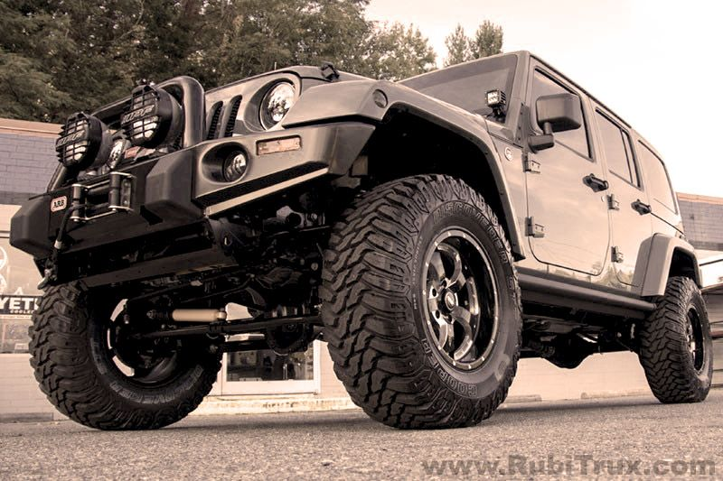 extremely well-built Wrangler Rubicon Unlimited