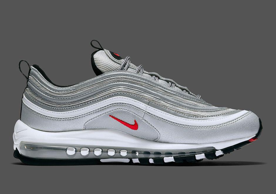 Nike Air Max 97 Silver Bullet Us Release Date Nike Air Sneakers Nike Nike Air Max