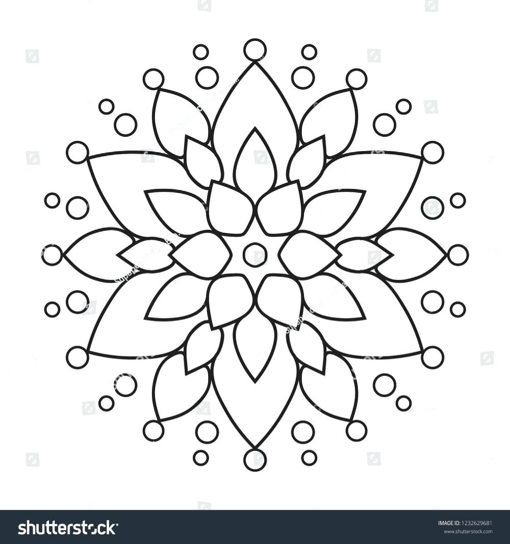Coloring Pages Coloring Book Mandala Sunraysheet Co Free Simple For Adults Printable Easyids Teens Col Mandala Coloring Pages Mandala Coloring Simple Mandala