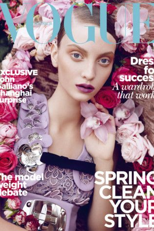 Vogue Australia October 2010 Cover