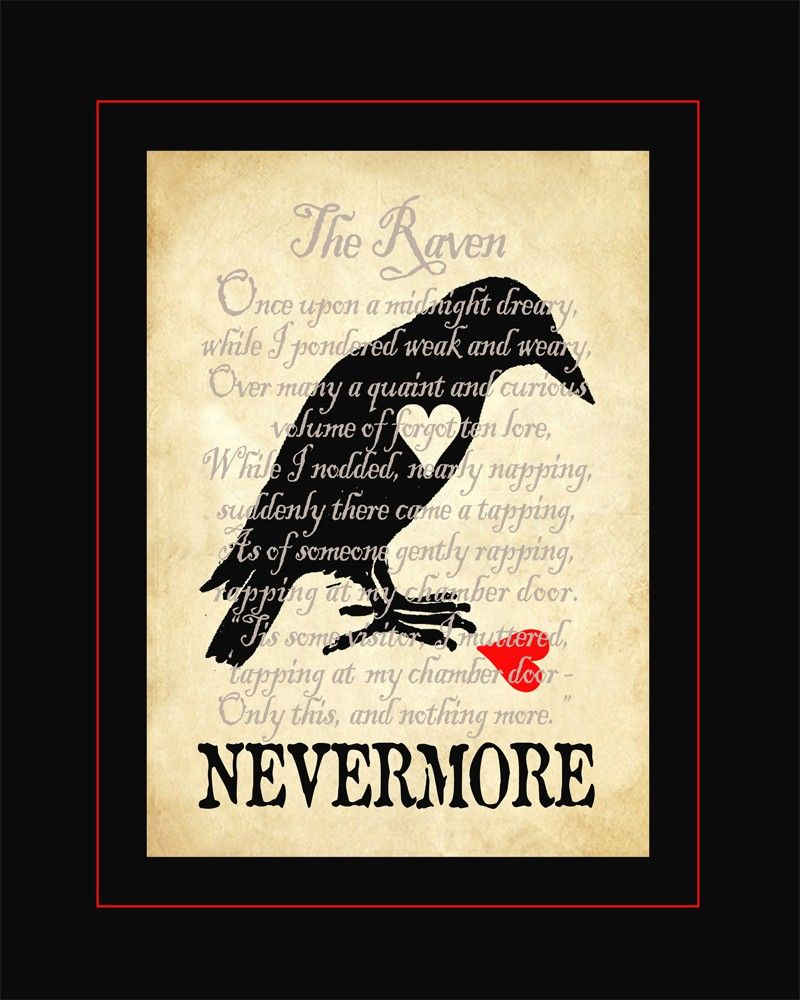 Pin By Diane Lewi On Halloween To Do Nevermore Poe Raven The Poetry Edgar Allan