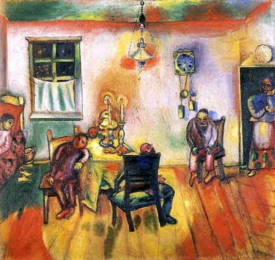 Le sabbat 1910 marc chagall marc chagall pinterest for Chagall tableau