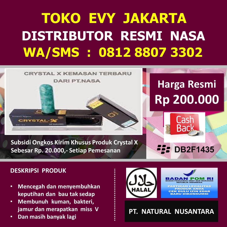Kami Distributor Resmi Nasa Jakarta Kami Memasarkan Semua Produk Original Dari PT Natural Nusantara