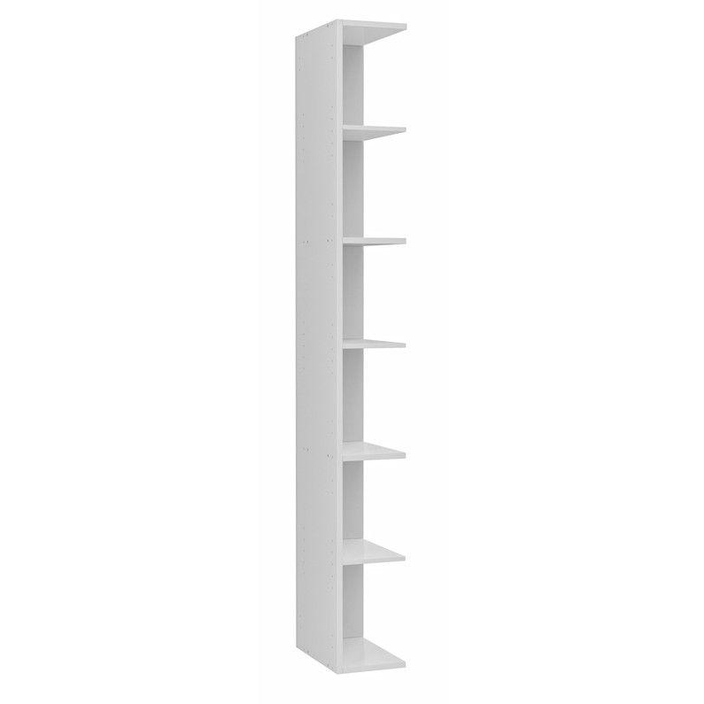Extension Pour Colonne De Rangement L 20 X H 172 9 X P 33cm Blanc Remix Colonne De Rangement Colonne Salle De Bain Etagere Etroite