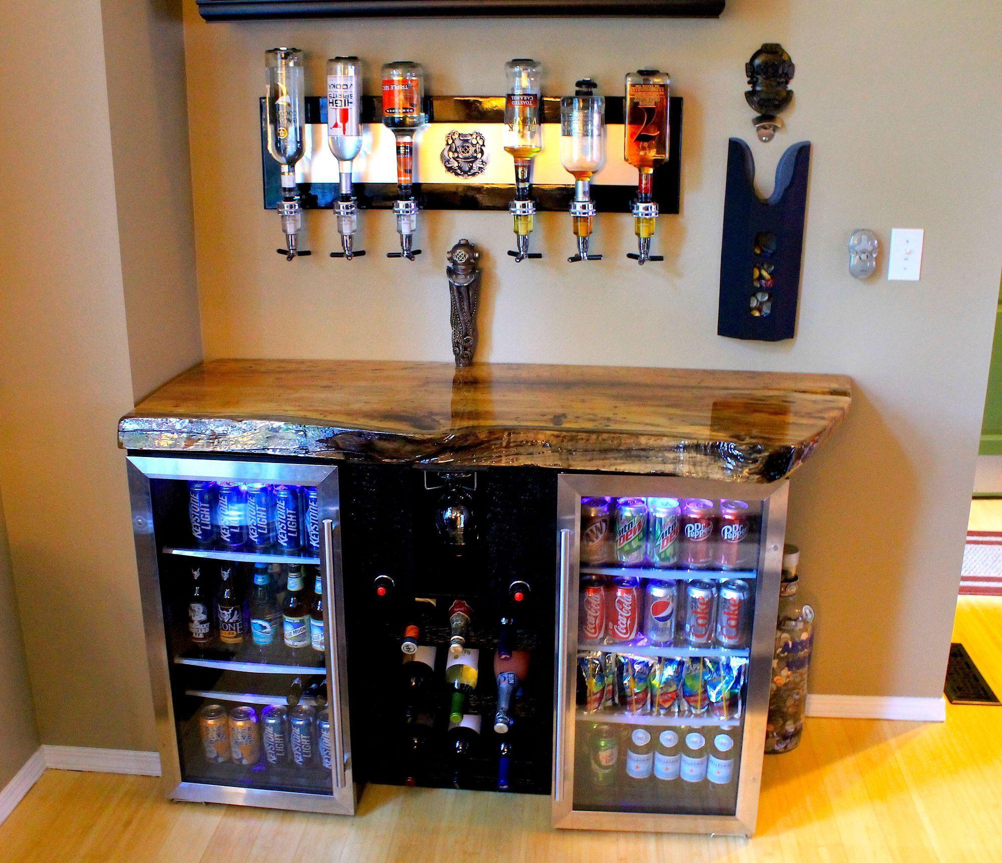 Amazing bar magnolia wood inside ideas in 2019 bars for home man cave home bar home bar - Mini bar table design ...