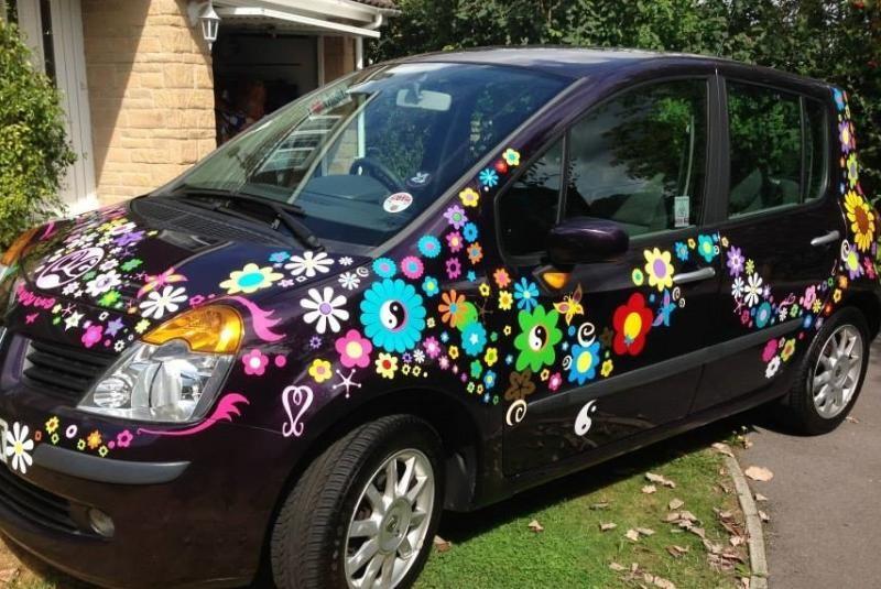 Hippy motors fab groovy car camper van stickers decals celia jpg