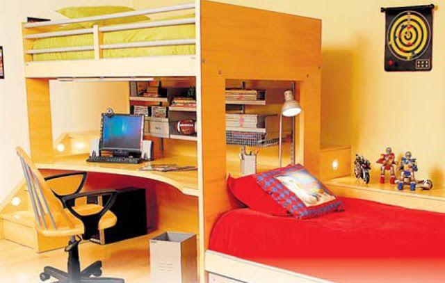 Dormitorio para hermanos dormitorio para hermanas for Decoracion dormitorios chicos