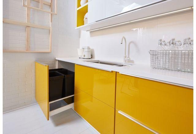 Ikea Jarsta Yellow Cabinet Doors Drawer Faces Ikea Sektion Kitchen Maximera Yellow Cabinets Kitchen Kitchen Dinning Room